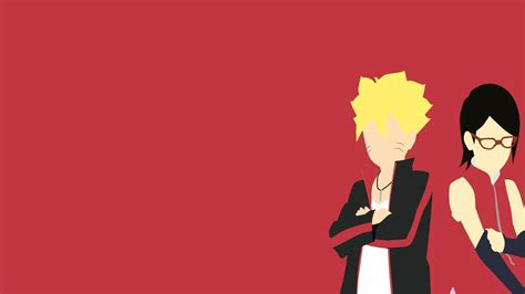 Boruto And Sarada Full Hd Wallpaper And Background Image