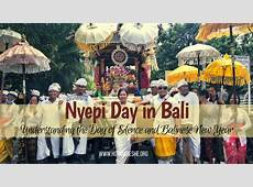 Rituals of Nyepi day in Bali How Dare She