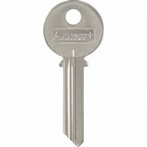 The Hillman Group #64 Blank Yale Key in Silver-88045 - The ...