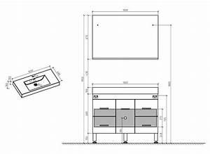 meubles lave mains robinetteries meubles sdb meuble de With dimension miroir salle de bain