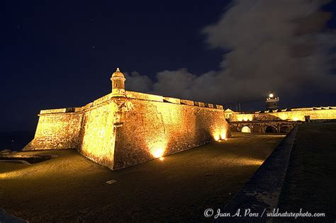 El Morro, San Juan Puerto Rico at Night | High Dynamic ...