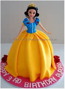 Princess Snow White Birthday Cake