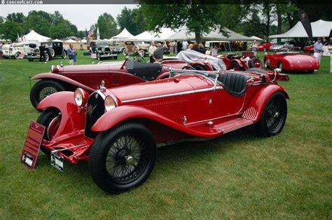 1931 Alfa Romeo 8c 2300 Chassis Information 2531