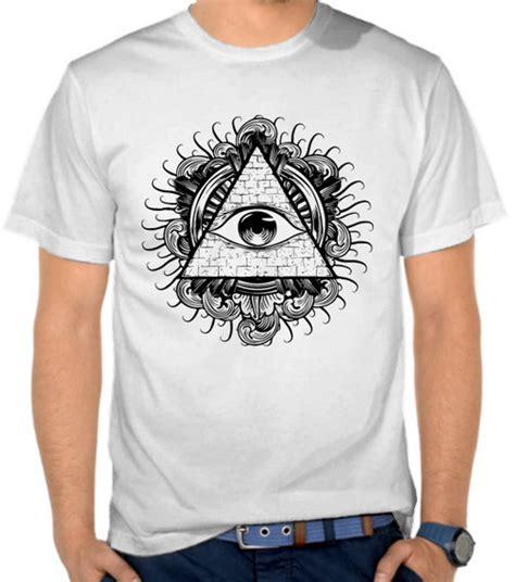 jual kaos the da vinci code all seeing eye underground