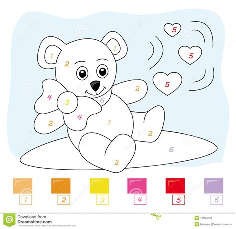 bear numbers clipart clipground