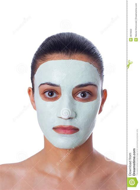 girl  facial mask stock photography image