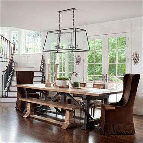 Captain Chairs For Dining Room Table by Dining Room Wainscoting Contemporary Dining Room