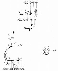 Mercury Marine 115 Hp  6 Cylinder  Wiring Harness