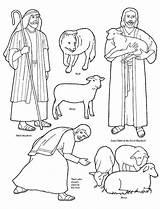 Shepherd Coloring Printable Getcolorings sketch template