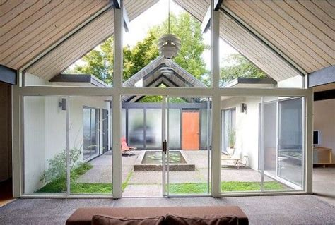 Solarium Room, Atrium Ideas And Courtyard House