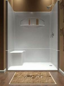 One Piece Shower The Idea Of A One Piece Shower Insert