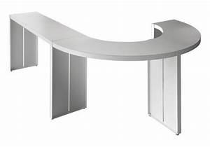 Table Haute 110 Cm : table haute panco h 110 cm l 290 cm blanc lapalma ~ Teatrodelosmanantiales.com Idées de Décoration