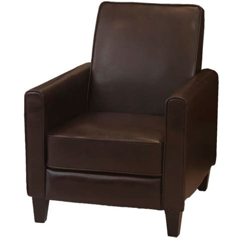 Furniture Black Leather Club Chairs For Small Spaces For