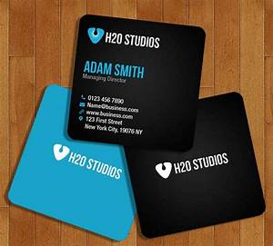 Top 22 free business card psd mockup templates in 2018 for Mini business cards template