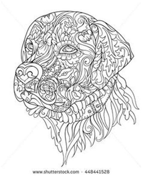 kostenloses ausmalbild hund pinscher die gratis mandala malvorlage einfach ausdrucken und
