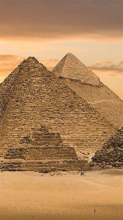 Egypt Egyptian Pyramids Wallpapers Iphone Ancient Giza