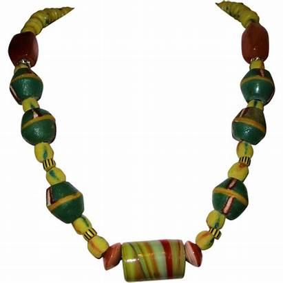 African Trade Beads Bead Antique Necklace Venetian
