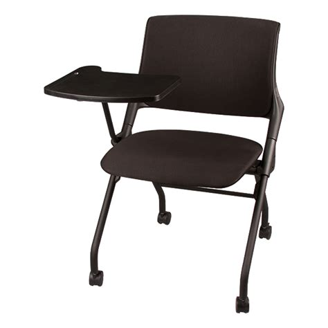 learniture upholstered tablet arm nesting chair at school