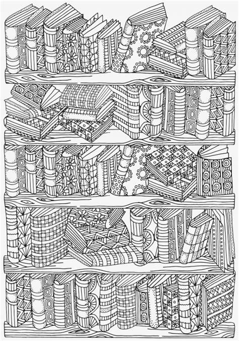 bookshelf doodle coloring kidspressmagazinecom