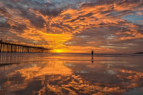 god pismo beach sunset central coast