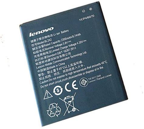 Lenovo A2010 2000 mAh Battery by PAL COLLECTION ...