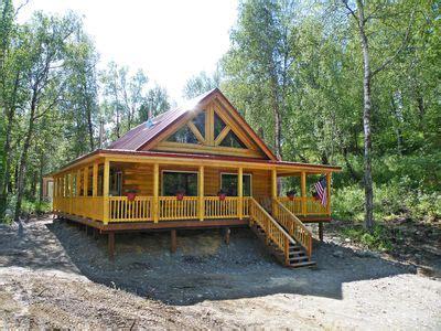 Gorgeous Log Cabin With Huge Wraparound Porch Sutton Alpine
