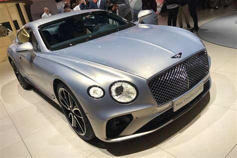 New 2018 Bentley Continental Gt Goes On Display In