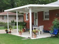 10 x 20 free standing flat pan aluminum 023 patio