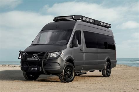 "Customers have a variety of options in choosing basic vehicle the convenient and luxuriously equipped camper vans combine high driving safety with equal comfort. 2019 Mercedes Sprinter 170"" 2500 4WD, Conversion Van RV ..."