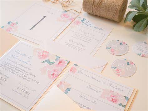 pocketfold einladung pastel flowers juhu papeterie