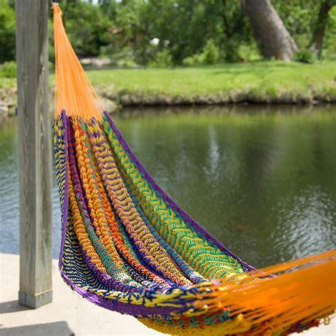 xxl hand woven thick string hammock hammocks  hayneedle