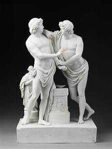 Pylades and Orestes | Jüchtzer, Christian Gotfried | V&A ...
