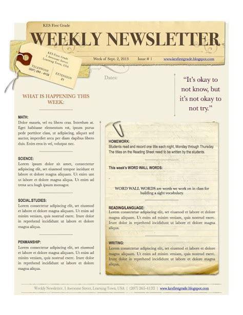 church newsletter templates 39 best church newsletter images on