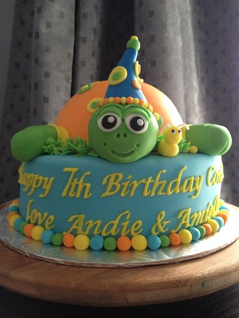 Turtle Cake Decorations - 210 best birthday images on turtle cakes