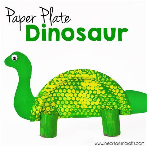 paper plate dinosaur craft i arts n crafts 662 | Dinosaur1