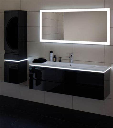 Interior Led Lighting For Homes Un Meuble De Salle De Bain Avec Led Intégrée