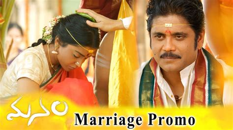 Manam Movie Marriage Promo    ANR, Nagarjuna & Shriya ...