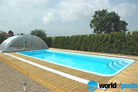 pool aus polen pool mit 252 berdachung aus polen schwimmbad und saunen