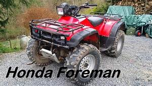The New Project  Honda Foreman 450 Atv First Look Cold