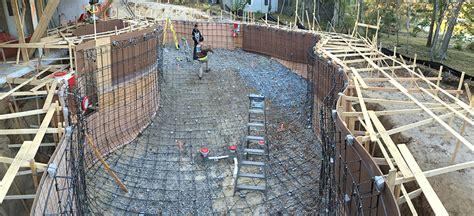 Swimming Pool Construction Using Basalt Rebar  Basalt Guru