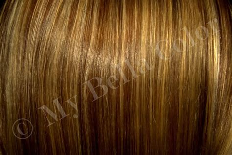 Brown Multi-color Hair Color Instructional Documents For