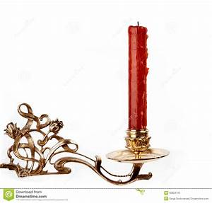 Red candle stock image. Image of glowing, night, elegance ...