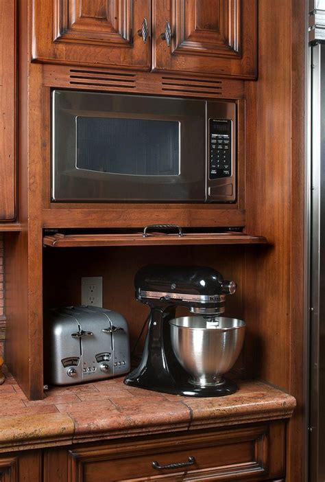 Don't forget to poke holes in the potato. Mullet Cabinet — Mediterranean/Tuscan Style Kitchen