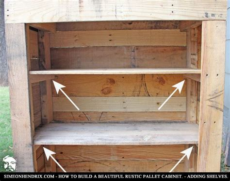 building cabinets out of pallets 50 best how to build beautiful rustic pallet cabinet