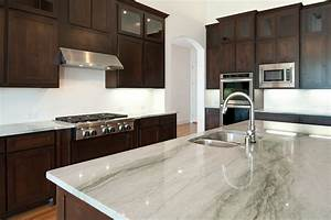 white granite countertops kitchen, Simple White Kitchens