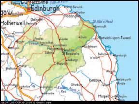 Scottish Borders Map