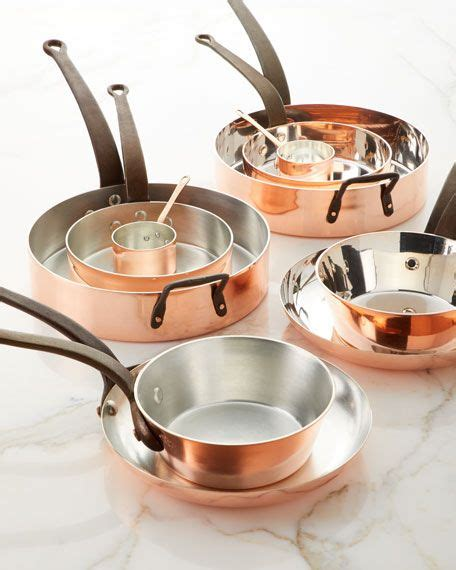 duparquet copper cookware solid copper tin lined pans set    matching items copper