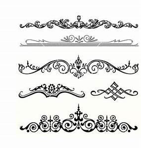 header ornament vector 187115 by vectormikes on With wedding invitation header design