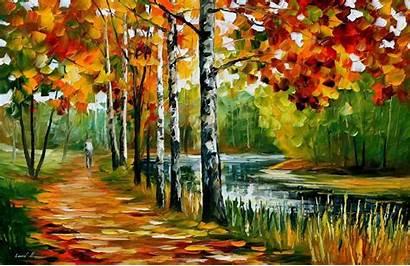 Afremov Summer Painting Leonid Oil Endless Canvas