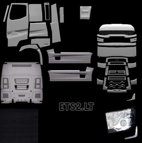 truck template template all truck ets 2 mods